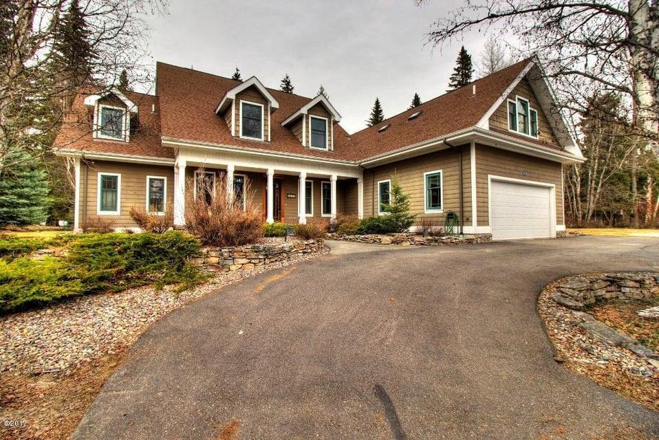 Single Family Home for Sale at 1481 Barkley Lane Whitefish, Montana 59937 United States