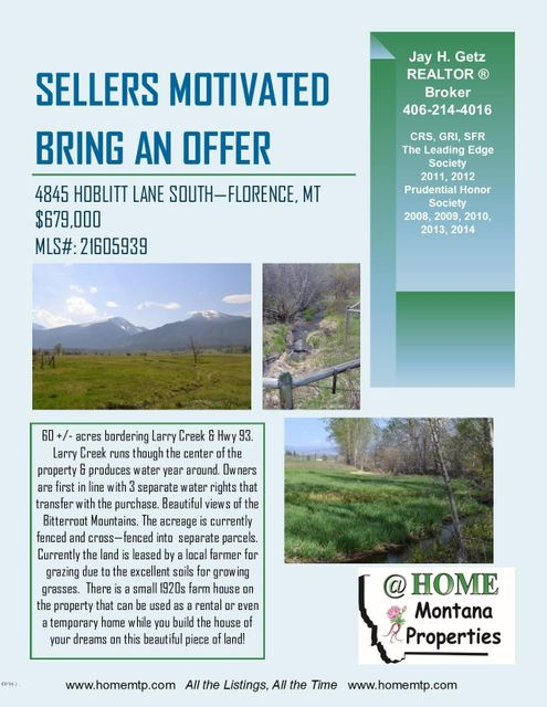 Additional photo for property listing at 4845 Hoblitt Lane  Florence, Montana 59833 United States