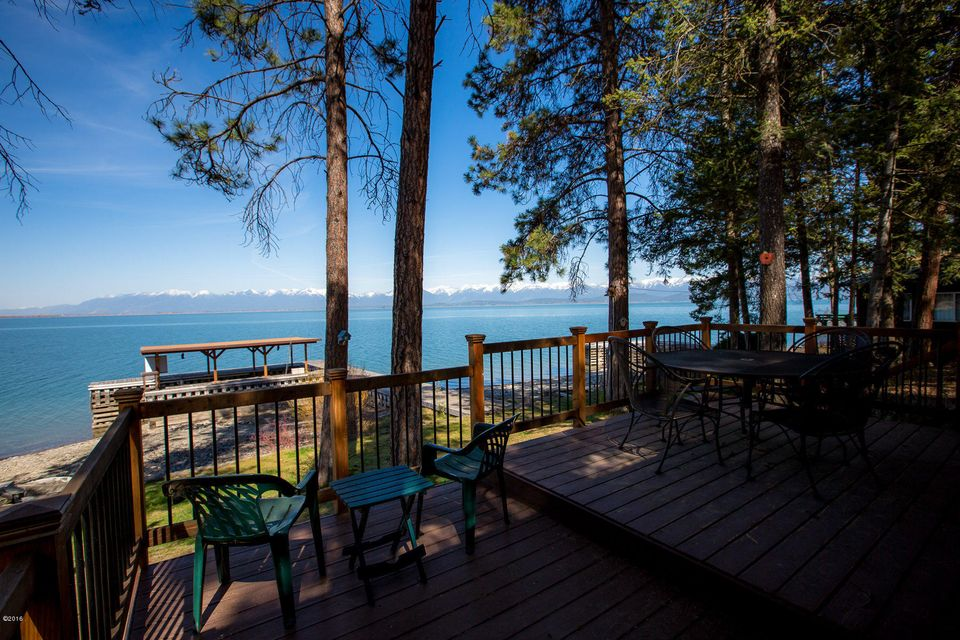 Casa Unifamiliar por un Venta en 373 Caroline Point Road Lakeside, Montana,59922 Estados Unidos