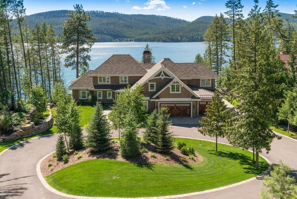 Single Family Home for Sale at 2480 East Lakeshore Drive Whitefish, Montana 59937 United States