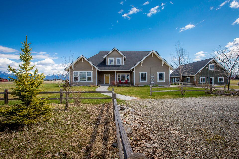 Single Family Home for Sale at 1025 North Somers Road 1025 North Somers Road Kalispell, Montana 59901 United States