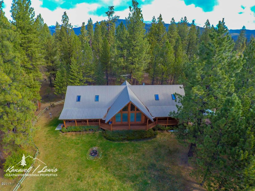 Single Family Home for Sale at 2532 Valley View Road Lincoln, Montana 59639 United States