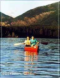 Boating on Lake Five