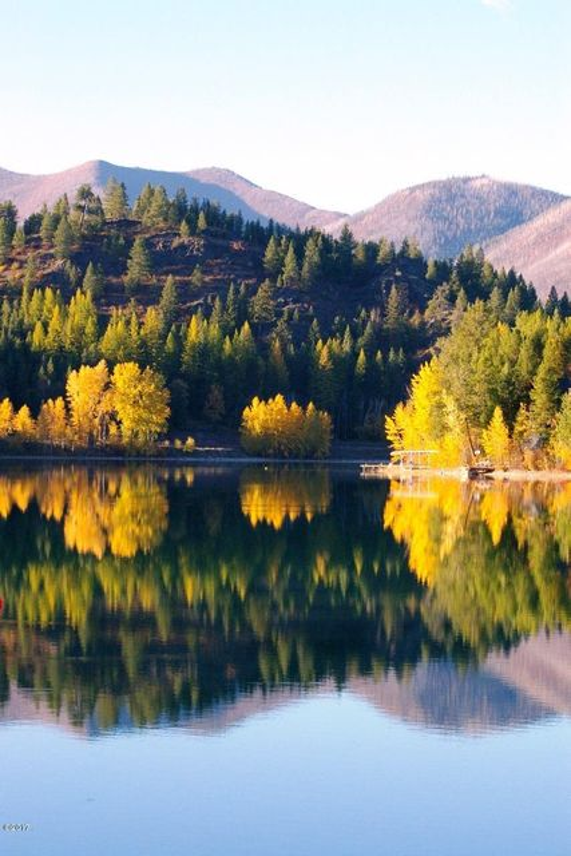 Fall at Lake Five 2