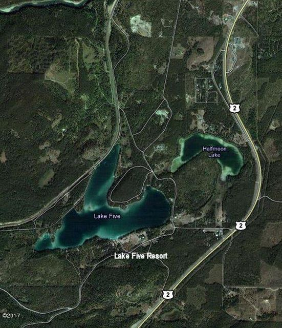 Google Map, Lake Five Overview