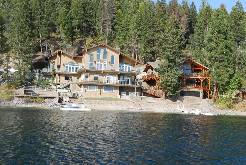 Single Family Home for Sale at 3632 East Lakeshore Drive 3632 East Lakeshore Drive Whitefish, Montana,59937 United States