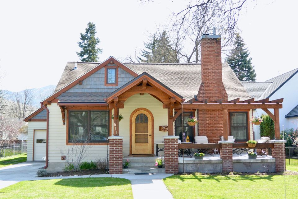 Single Family Home for Sale at 511 Evans Avenue Missoula, Montana 59801 United States