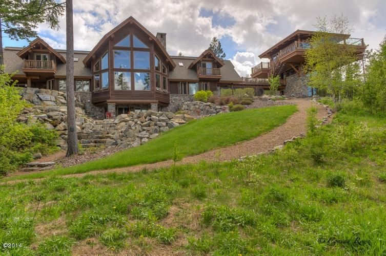 Single Family Home for Sale at 809 Inspiration Drive Whitefish, Montana 59937 United States