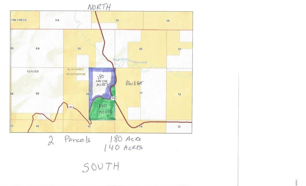 Land for Sale at 1217 Us Highway 49 Browning, Montana 59417 United States