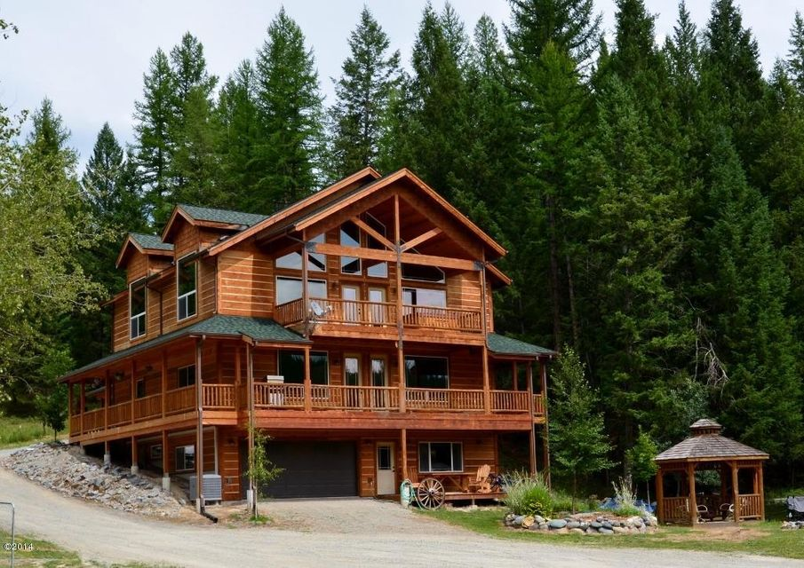 Single Family Home for Sale at 12400 Pinkham Creek Road Rexford, Montana 59930 United States
