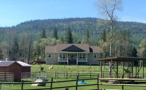 Single Family Home for Sale at 2865 Lower Lost Prairie Road Marion, Montana 59925 United States