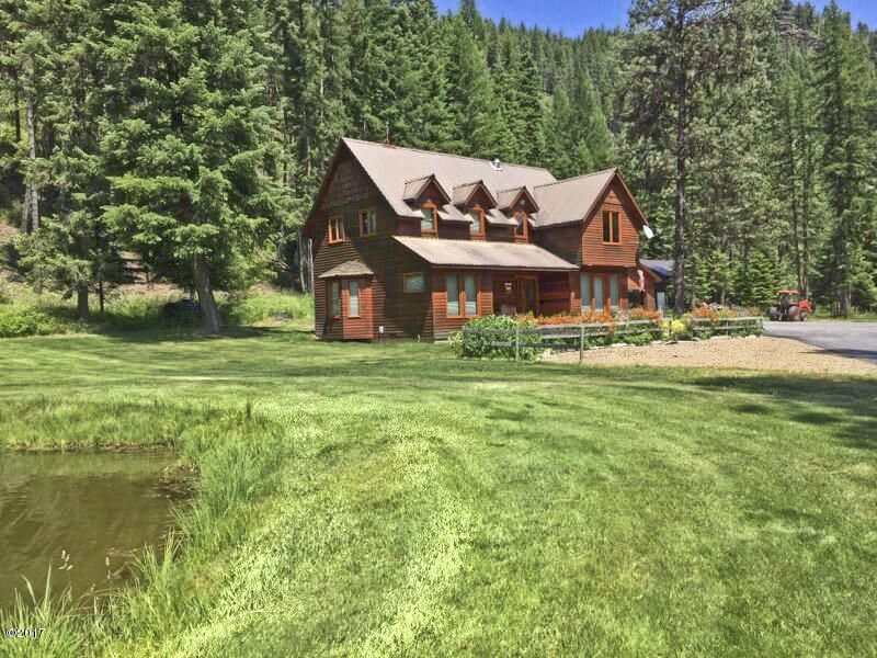 Additional photo for property listing at 485 Elk Creek Road  Heron, Montana 59844 United States