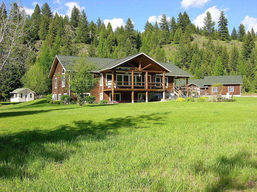 Single Family Home for Sale at 51 Rock Hill Lane Trout Creek, Montana 59874 United States