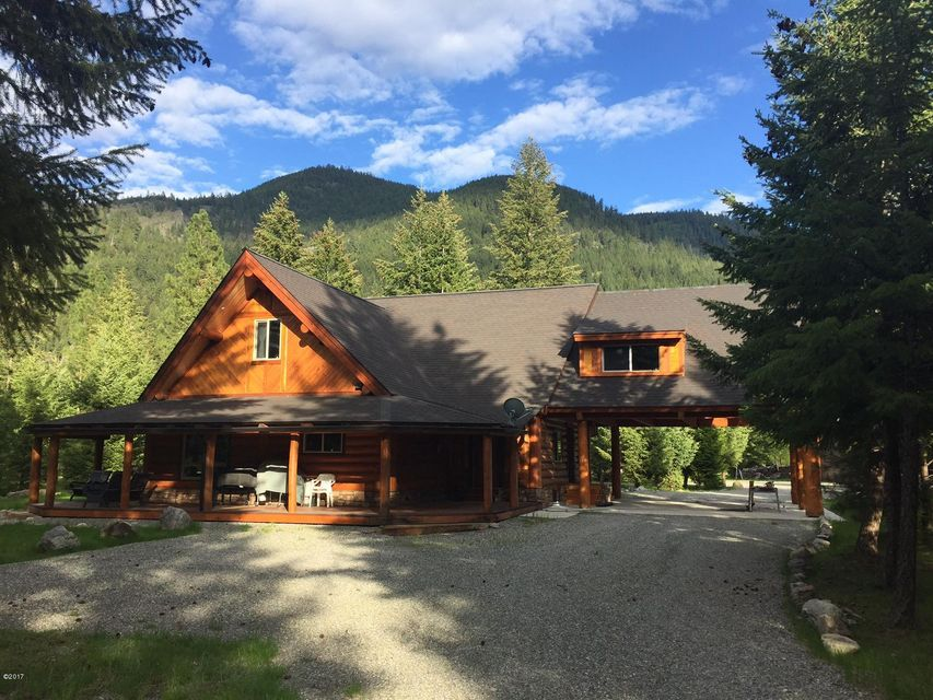 Single Family Home for Sale at 570 Cherry Creek Road Thompson Falls, Montana 59873 United States