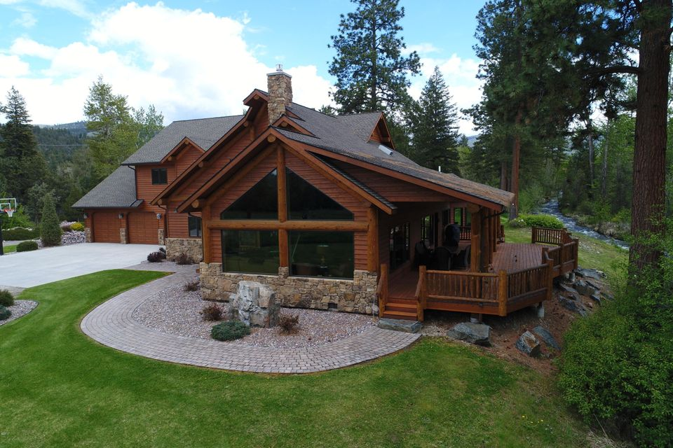 Single Family Home for Sale at 1631 Middle Burnt Fork Road Stevensville, Montana 59870 United States