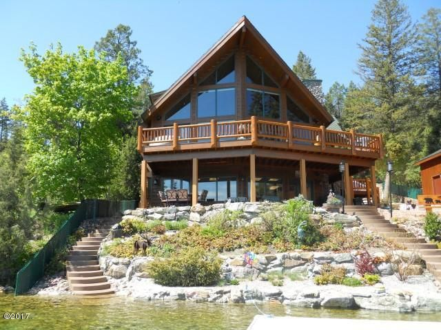Single Family Home for Sale at 522 North Foys Lake Drive 522 North Foys Lake Drive Kalispell, Montana 59901 United States