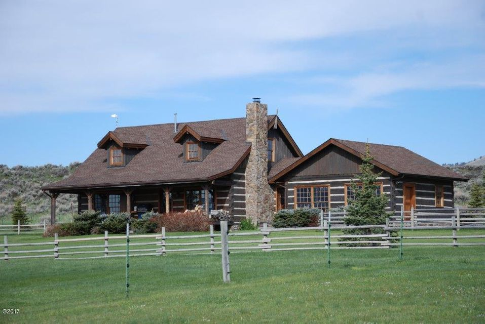 Single Family Home for Sale at 1607 Shields River Road Wilsall, Montana 59086 United States