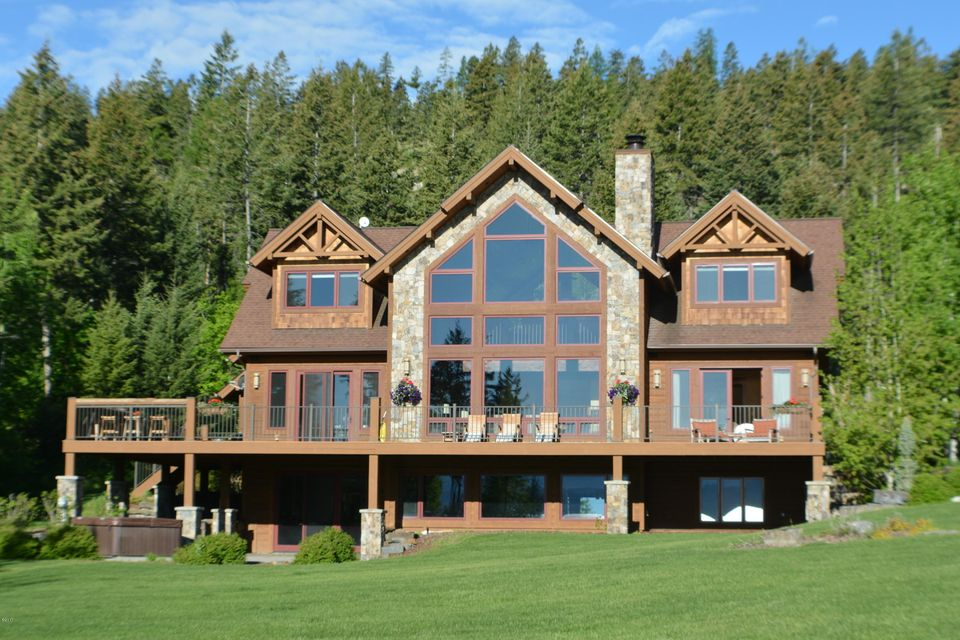 Single Family Home for Sale at 183 Eagles Crest Lakeside, Montana 59922 United States