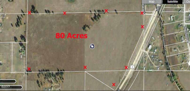 Land for Sale at 46 Managhan Lane Kalispell, Montana 59901 United States