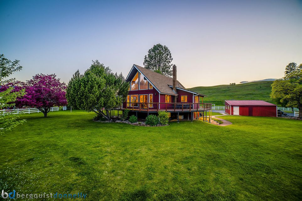 Single Family Home for Sale at 16845 Scheffer Lane Huson, Montana 59846 United States