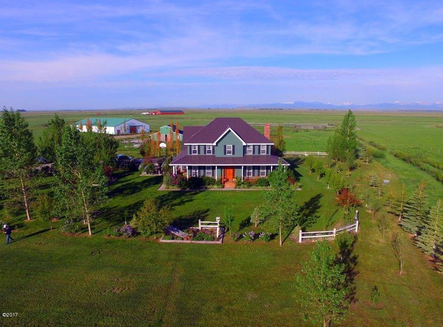 Single Family Home for Sale at 1168 Hwy 220 Choteau, Montana 59422 United States