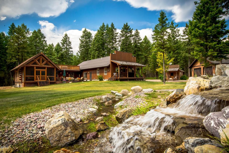 Single Family Home for Sale at 1447 North Prairie View Road Whitefish, Montana 59937 United States