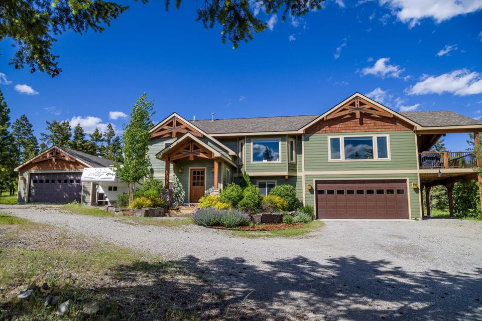 Single Family Home for Sale at 368 Shelter Valley Drive 368 Shelter Valley Drive Kalispell, Montana 59901 United States