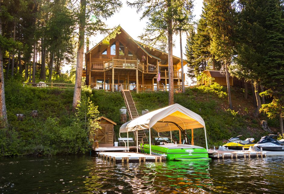 Single Family Home for Sale at 412 Rana Drive Seeley Lake, Montana 59868 United States