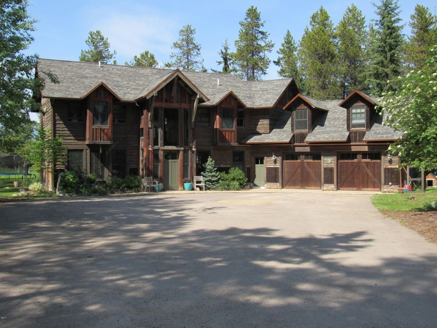 Single Family Home for Sale at 207 Blanchard Lake Road Whitefish, Montana 59937 United States