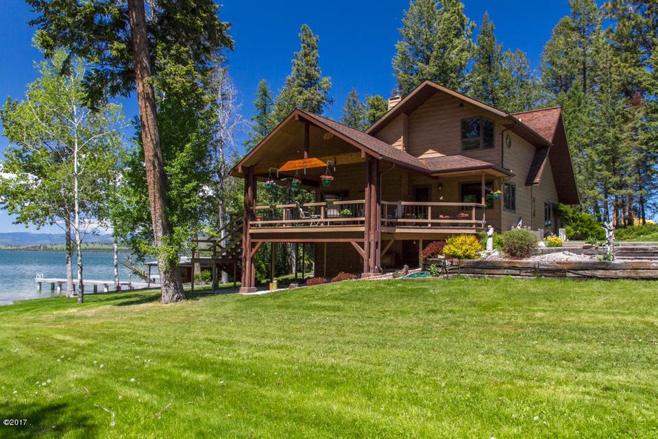 Single Family Home for Sale at 27653 Melita Island Road 27653 Melita Island Road Polson, Montana 59860 United States