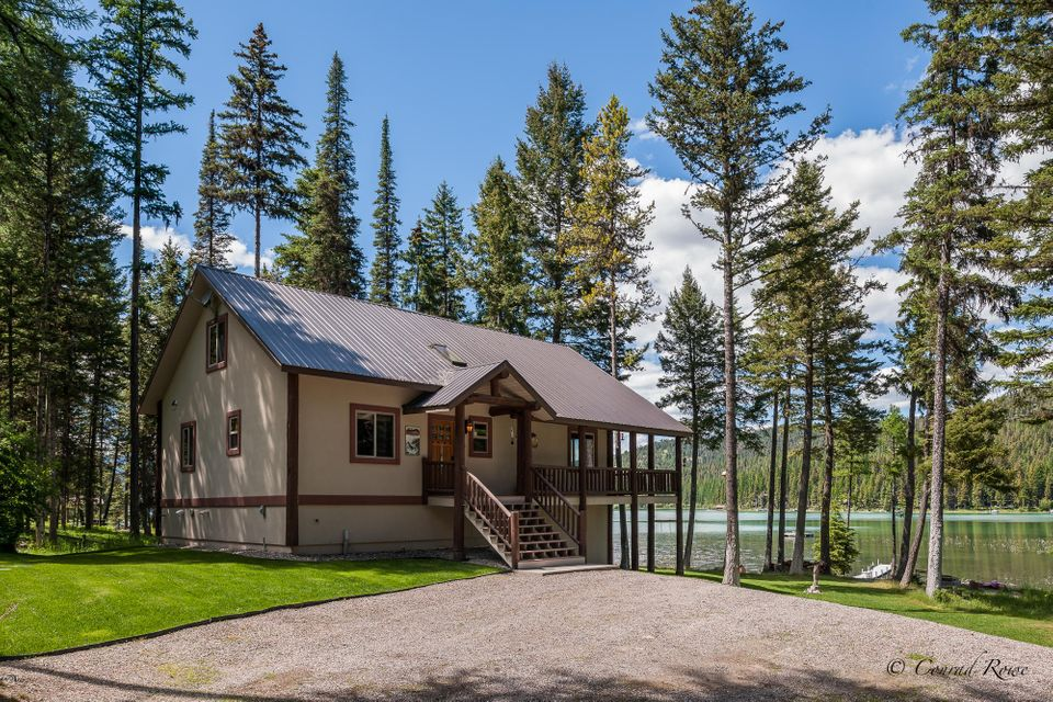 Single Family Home for Sale at 3155 Ashley Lake Road 3155 Ashley Lake Road Kalispell, Montana 59901 United States