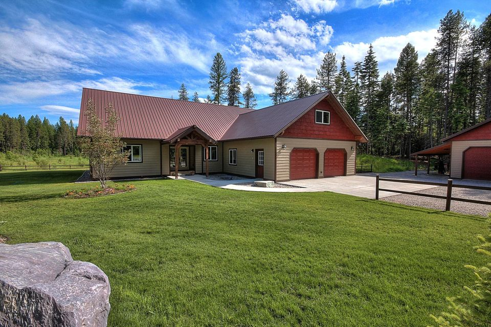 Single Family Home for Sale at 653 Pine Ridge Road Bigfork, Montana 59911 United States
