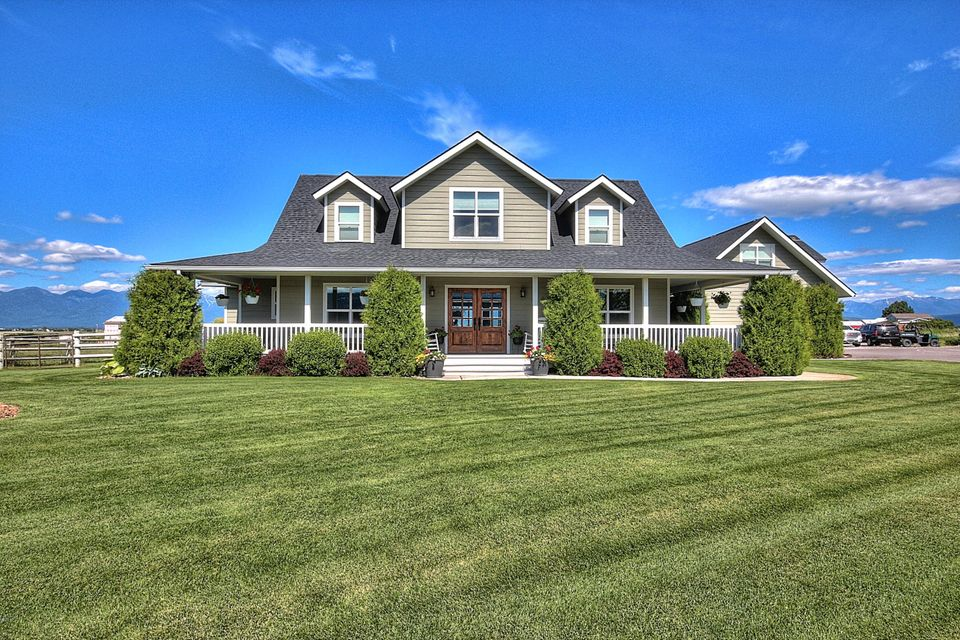 Single Family Home for Sale at 1353 Hard Rock Road Somers, Montana 59932 United States