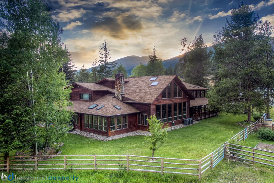 Single Family Home for Sale at 6904 West Fork Road Darby, Montana 59829 United States