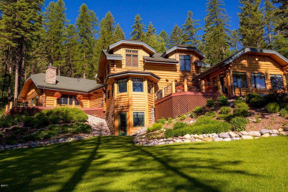 Single Family Home for Sale at 2325 Wolf Tail Pines Road Whitefish, Montana 59937 United States
