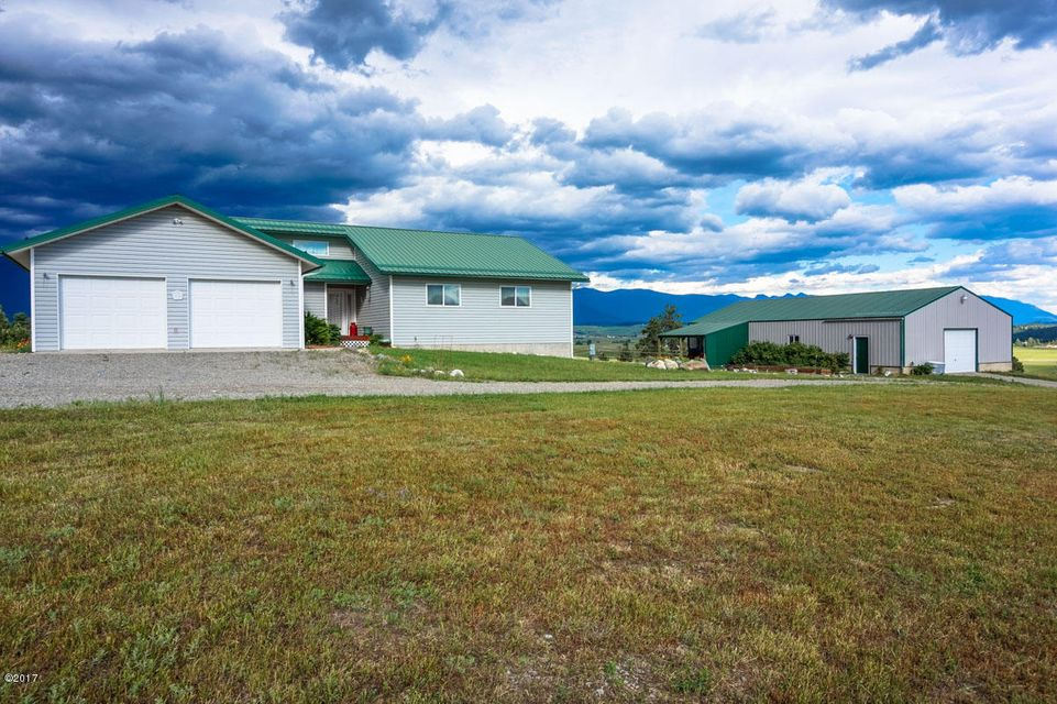 Single Family Home for Sale at 672 Douglas Hill Road Eureka, Montana 59917 United States