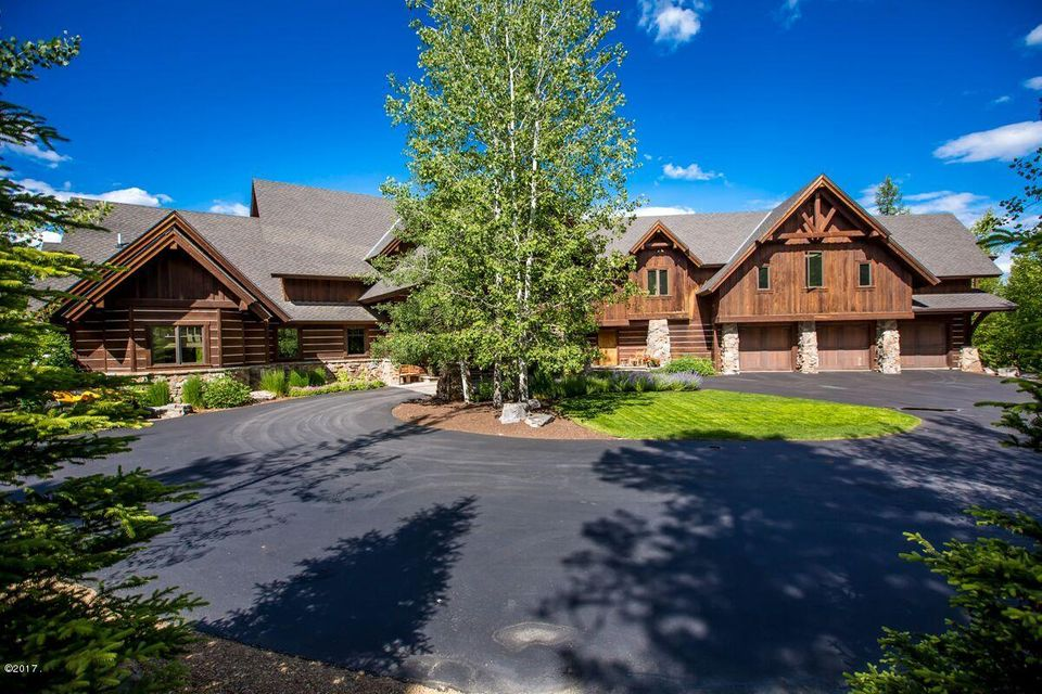 Single Family Home for Sale at 555 Whitefish Hills Drive Whitefish, Montana 59937 United States
