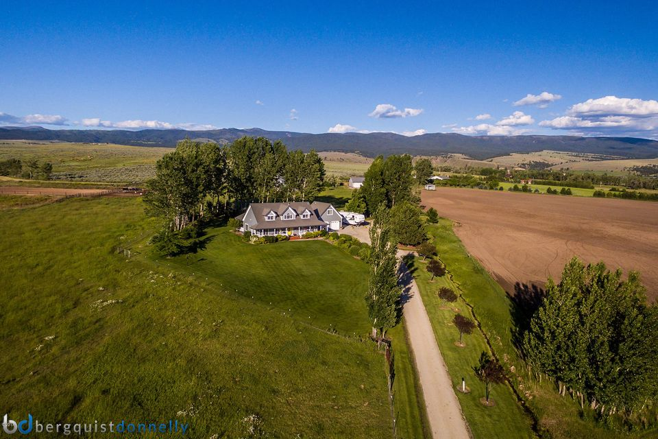 Single Family Home for Sale at 674 Stage Springs Lane 674 Stage Springs Lane Stevensville, Montana,59870 United States