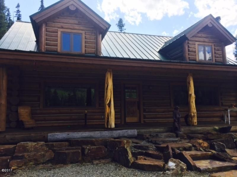 Single Family Home for Sale at 1776 Five Mile Creek Road 1776 Five Mile Creek Road Libby, Montana 59923 United States