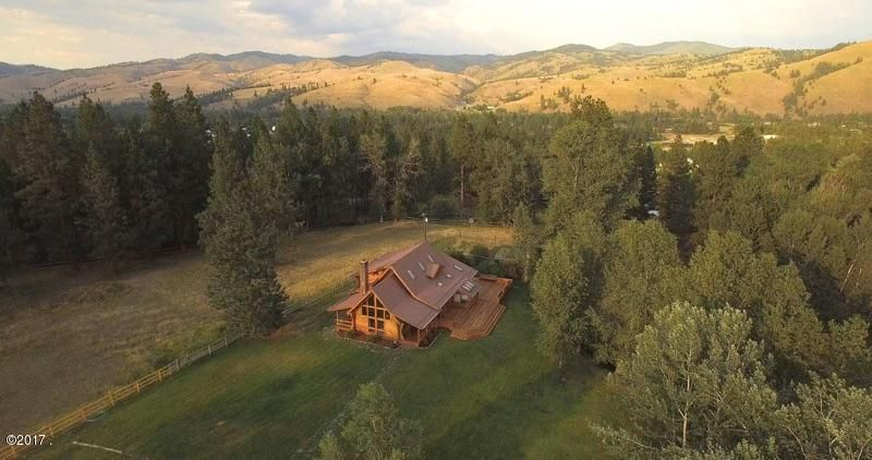 Single Family Home for Sale at 3500 Blacktail Road Darby, Montana 59829 United States