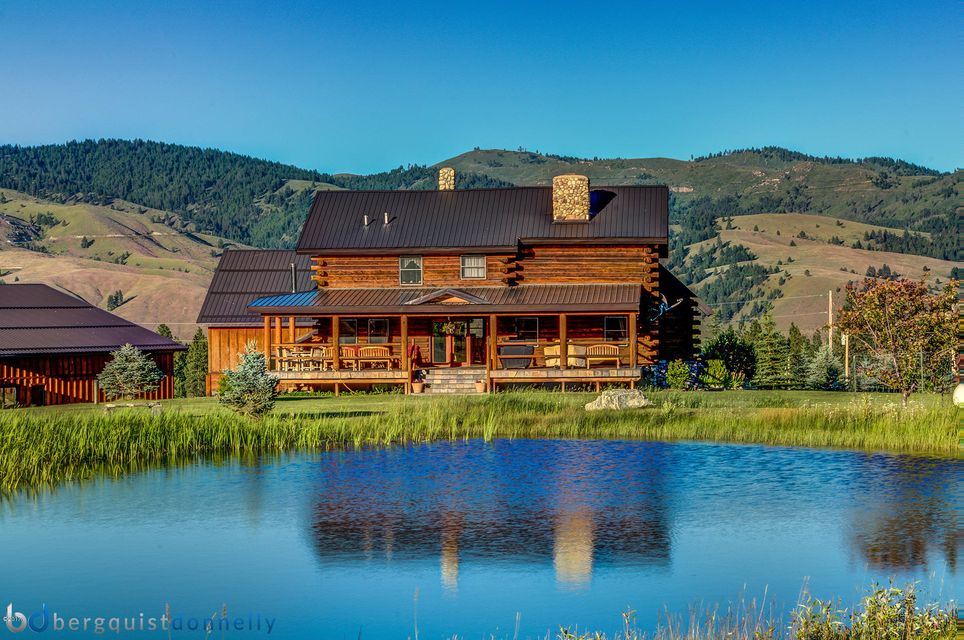 Single Family Home for Sale at 203 Hart Bench Road Darby, Montana 59829 United States