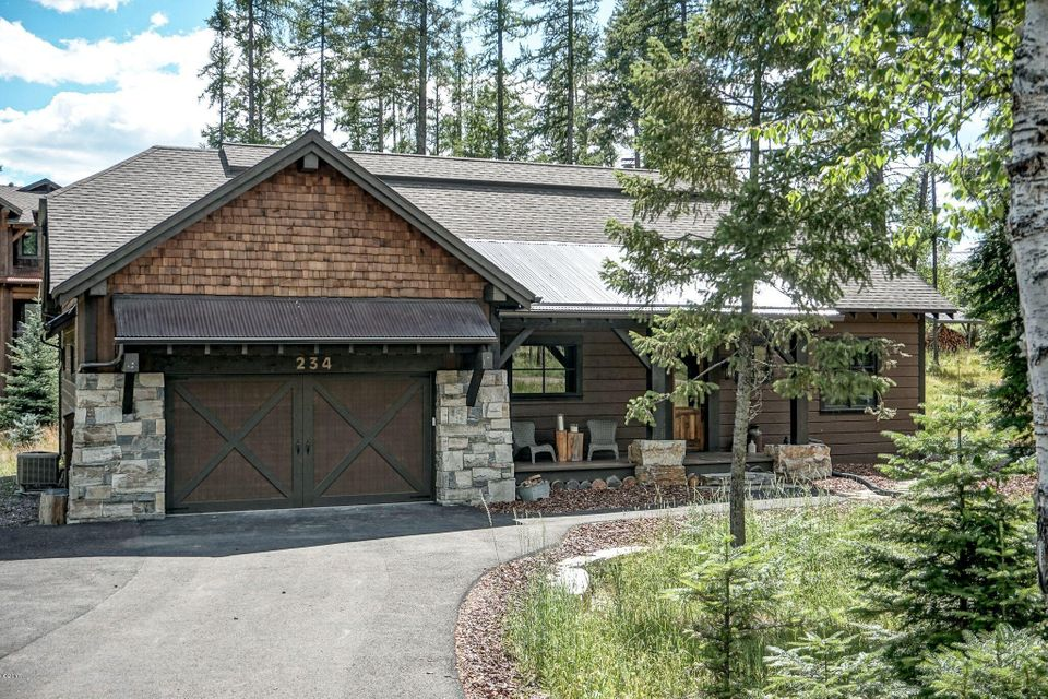 Single Family Home for Sale at 234 Hidden Hills Lane Whitefish, Montana 59937 United States