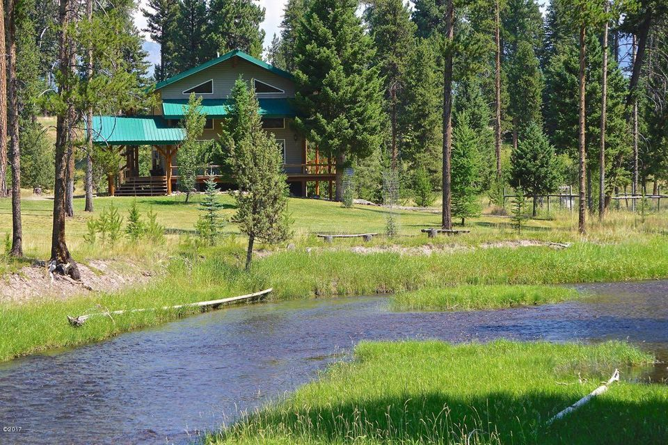Single Family Home for Sale at 242 Wagon Wheel Court 242 Wagon Wheel Court Seeley Lake, Montana 59868 United States