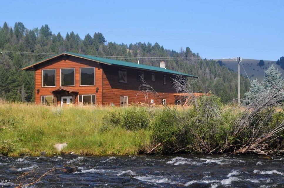 Single Family Home for Sale at 40 Sandin Ranch Lane 40 Sandin Ranch Lane Philipsburg, Montana 59858 United States