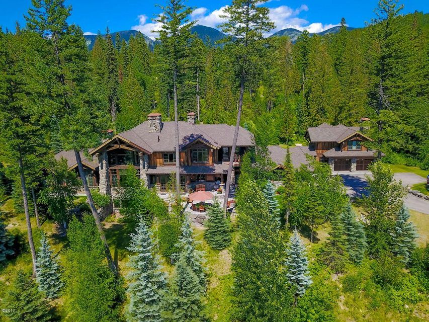 Single Family Home for Sale at 100 Huckleberry Lane 100 Huckleberry Lane Whitefish, Montana 59937 United States