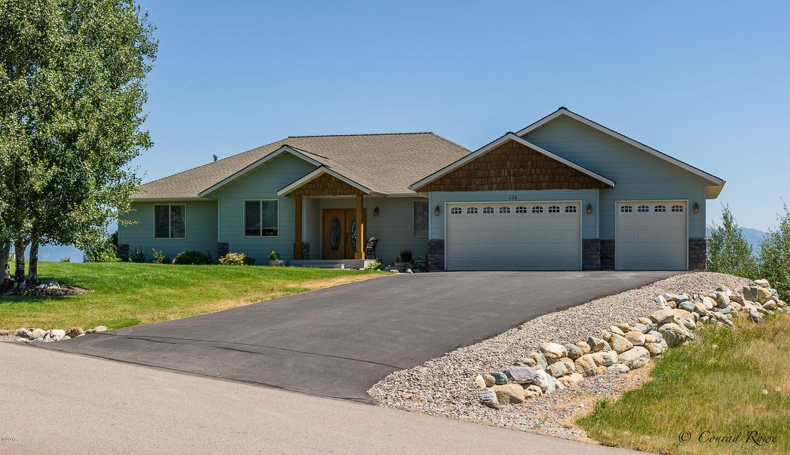 Single Family Home for Sale at 134 Ashley Hills Drive 134 Ashley Hills Drive Kalispell, Montana 59901 United States