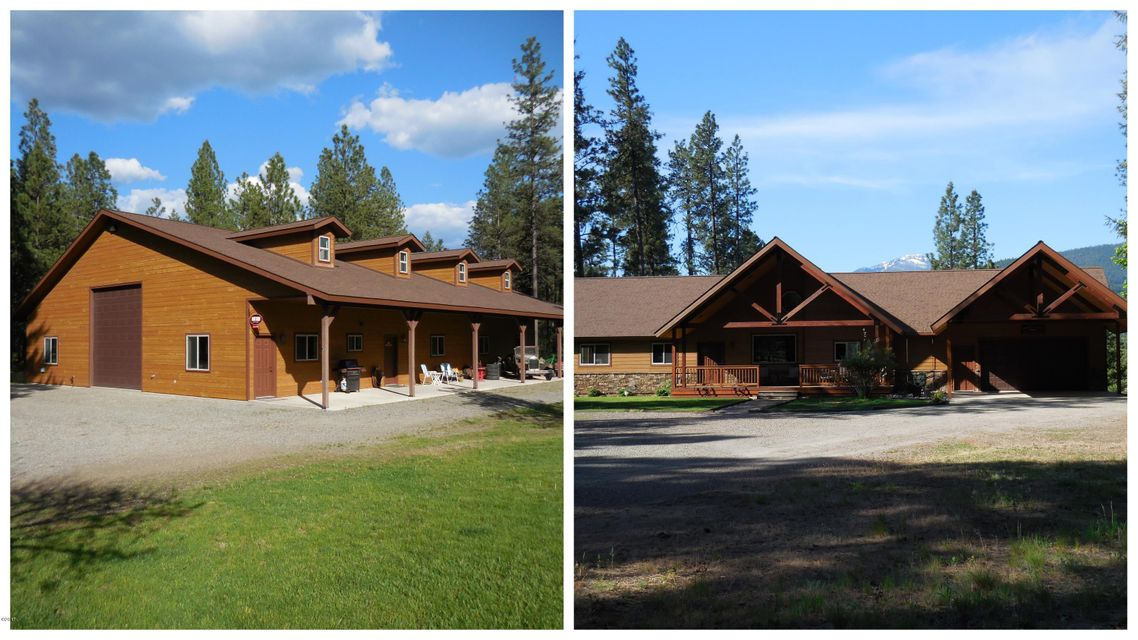 Single Family Home for Sale at 2707 Kootenai River Road 2707 Kootenai River Road Libby, Montana 59923 United States