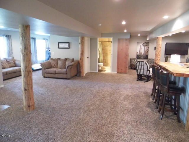 Lower Level Open Floor Plan