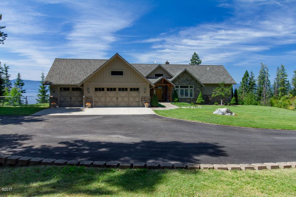 Single Family Home for Sale at 31161 Staghorn Drive 31161 Staghorn Drive Polson, Montana 59860 United States