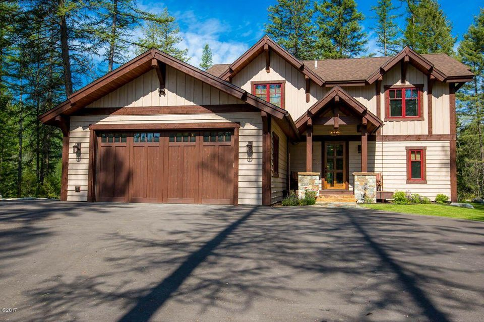 Single Family Home for Sale at 715 Lm Beach Lane Whitefish, Montana 59937 United States